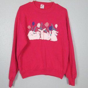 Vtg Medium Bunny Sweatshirt